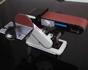 砂带机打磨机木工抛光机家用小型台式磨刀倒角电动砂带机