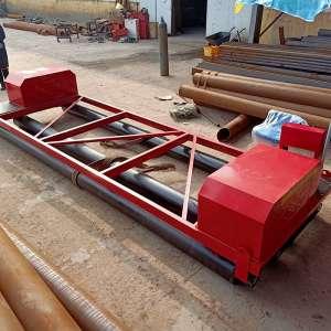 建筑工地三滚轴摊铺机 混凝土路面整平机 厂家定做水泥摊铺机