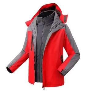 新款两件套保暖防水透气户外冲锋衣
